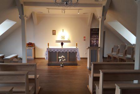 Nowy wystrój w kaplicy